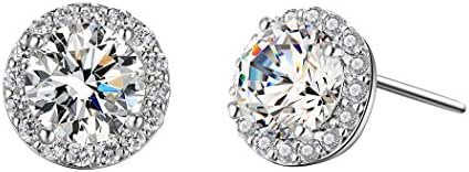 T400 Jewelers,Shiny Star Style Stud Earring,Made with Austrian crystal for women, channel earrings