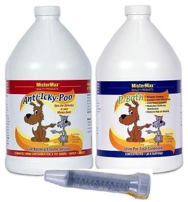 Mister Max Anti Icky Poo Starter KIT GALLONS by Mister Max