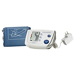 LifeSource One-Step Pro Blood Pressure Monitor for Upper Arm w/ Small Cuff (UA-767PSAC)