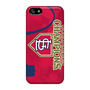 New Design Shatterproof BYY4908wZfy Case For Iphone 5/5s (st. Louis Cardinals)