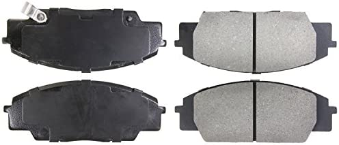StopTech 308.08690 Street Brake Pads; Front with Shims and Hardware