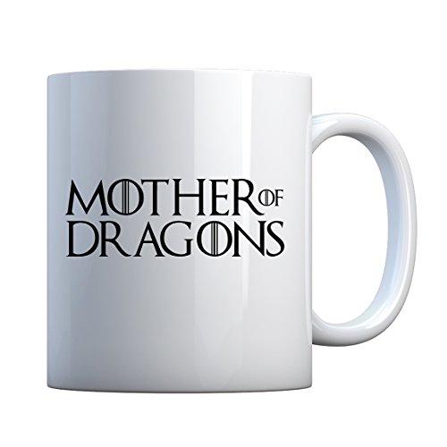 - Mug Mother of Dragons Large Pearl White Gift Mug
