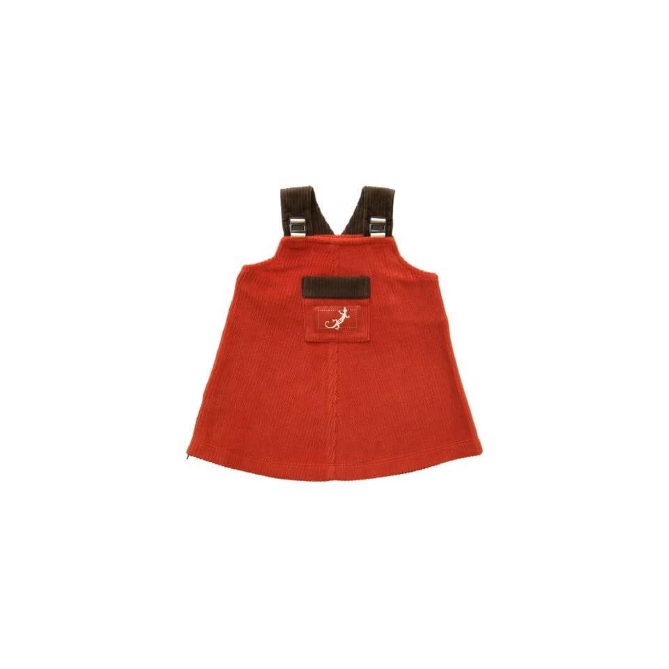 Zypalong Kids Baby Girls Jumper Dress 6 months (Red, Fall/Winter, Made in USA)