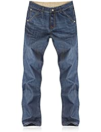 Men's Relaxed Dark Blue Jeans S80L9