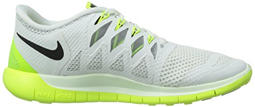 Nike Free 5.0 - Zapatillas de running de material sintético para mujer White/Drk Obsdn/Vlt/Pr Pltnm
