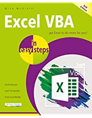 Excel VBA in easy steps: Covers Visual Studio Community 2017