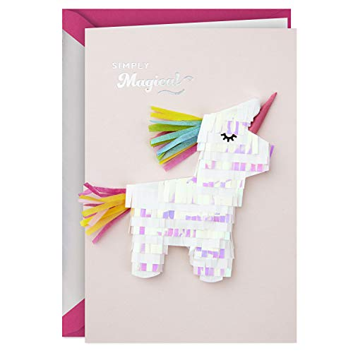 Hallmark Signature Birthday Card (Magical Unicorn)