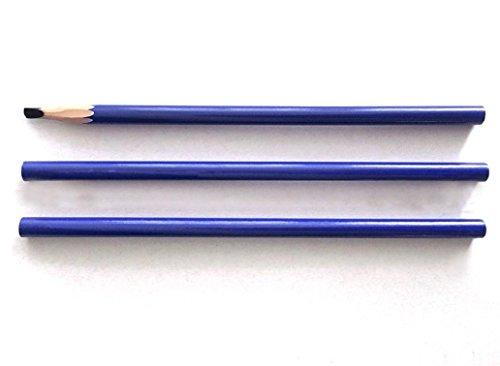 Eyebrow Lip Line Pencil, Permanent Makeup Design Positioning Waterproof Pen (Blue)