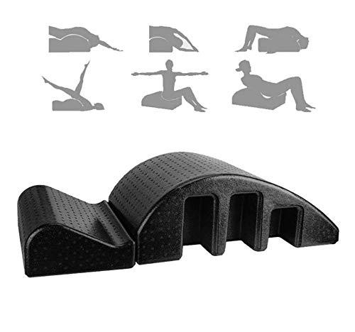 WONKIIN Lit de Massage Arc Pilates, Correction Multi-usages de Colonne vertébrale, Correction cervicale, Yoga, Masseur…