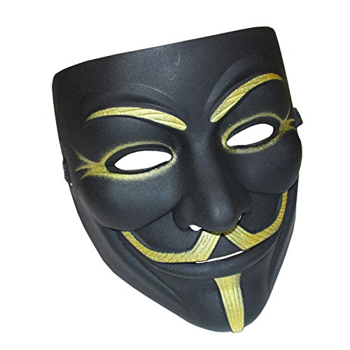 Guy Fawkes V For Vendetta Costumes - YCL Anonymous Masks V for Vendetta