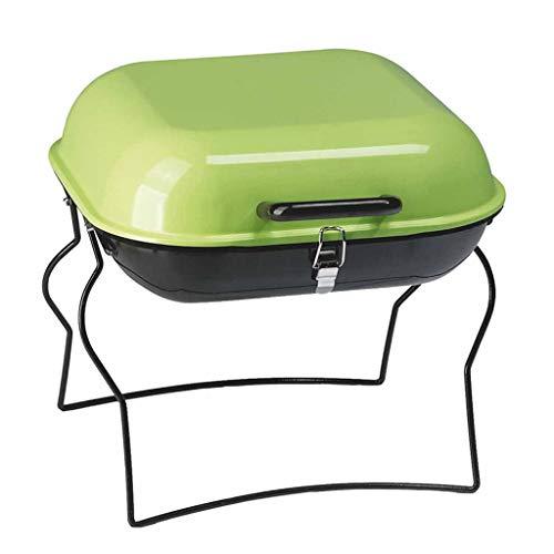ZJJ& Barbecue Grill Outdoor Portable Folding Barbecue Oven Mobile Simple Mini BBQ Grill