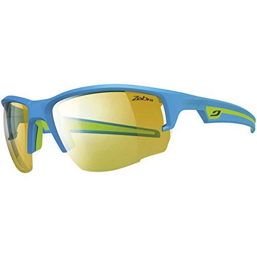 Julbo Venturi Performance Sunglasses, Blue/Green, Zebra Lens, - Sunglasses Zebra