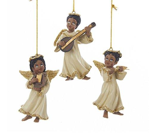Black Angels Ornaments (Kurt Adler 3.25-3.5