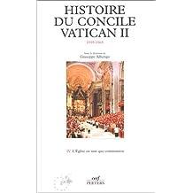 HISTOIRE DU CONCILE VATICAN II T04