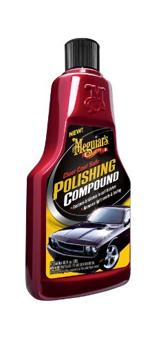 Meguiar's G18116 Clear Coat Safe Polishing Compound - 16 oz. (Coat Clear Scratches)