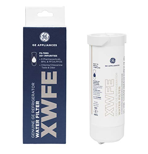 GE Appliances XWFE GE XWF Refrigerator Water Filter, White