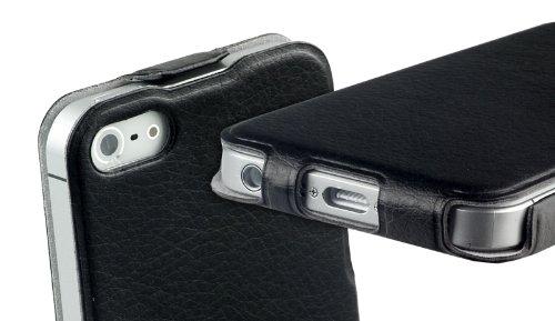 yayago Flip Tasche für Apple iPhone SE Tasche Schwarz