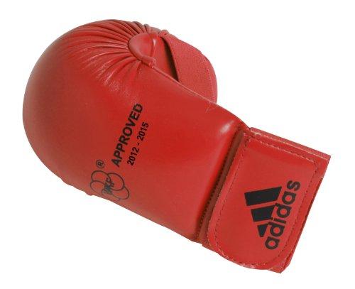 Drm Type - adidas WKF Karate Mitt (Red, Medium)