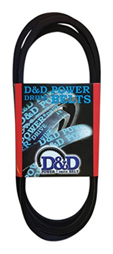 Rubber 57 Length D/&D PowerDrive B54 Hutchinson Division Replacement Belt 1-Band B//5L