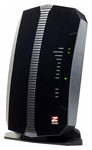 Zoom Telephonics 5354 DOCSIS 3.0 Cable Modem Plus Wireless N300 Router