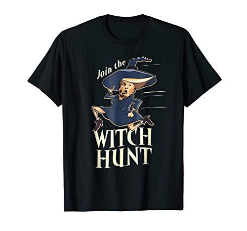 Funny Halloween Anti Donald Trump Tee Join the