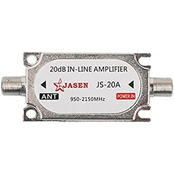 Amazon Com 20 Db In Line Amplifier Fixed Slope 20db