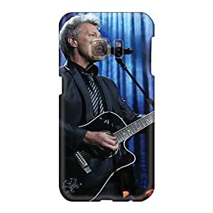 Samsung Galaxy S6 XeB16386enIw Custom Beautiful Bon Jovi Band Pattern Perfect Cell-phone Hard Cover -TammyCullen