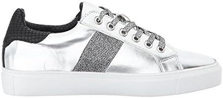 1e5526102ac2d STEVEN by Steve Madden Women's Cory Fashion Sneaker, Silver/Multi ...