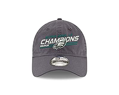 New Era Philadelphia Eagles Super Bowl Lll (52) Champions 9Twenty DAD'S Adjustable Hat - Graphite from New Era