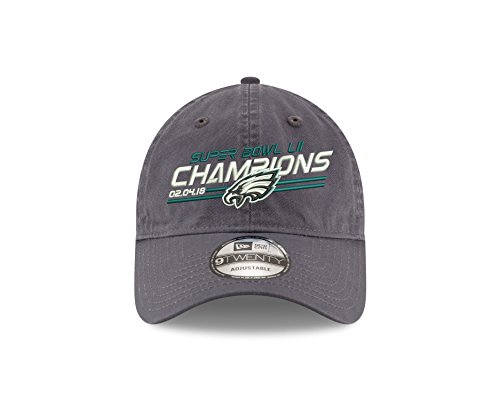 New Era Philadelphia Eagles Super Bowl Lll (52) Champions 9Twenty DAD'S Adjustable Hat - (Super Bowl Hat Cap)