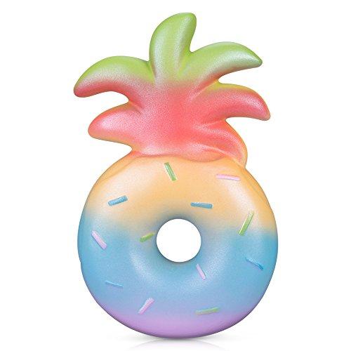 Squishy Jumbo Pineapple Donut 6.1