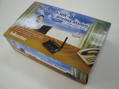 (Class 1 (100 Meters) Bluetooth 56k Wireless Modem)