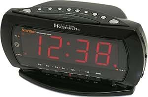 Emerson CKS2235B Jumbo Display Dual-Alarm Clock Radio with SmartSet Technology (Black) (Discontinued by Manufacturer)