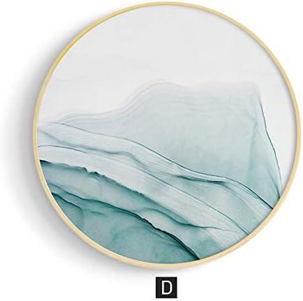 Teinture Peinture Décorative Abstraite Peinture Circulaire