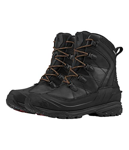 The North Face Men's Chilkat EVO, TNF Black/Rudy Red, 10 D (M)