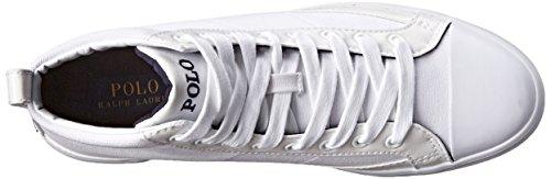 Polo Ralph Lauren Mens Clarke Fashion Sneaker Pure White ot03dX3SH