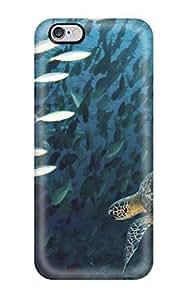 New Turtle Tpu Case Cover, Anti-scratch XJlUOPz7004ieYJK Phone Case For Iphone 6 Plus
