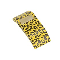 Band Cover for Fitbit HR Charge/Sports Soft Silicone Rubber Band Cover/Protective Sleeve/ Protective Case Cover / with Various Colors Available for Fitbit Charge/ Fitbit Charge HR (Yellow Leopard)
