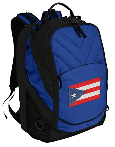 Puerto Rico Backpack Puerto Rico Flag Bag w/Laptop Section