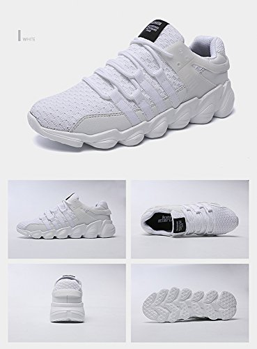 Course Basses Gym Chaussure sport Running Sneakers Homme white 5Eqw6O1