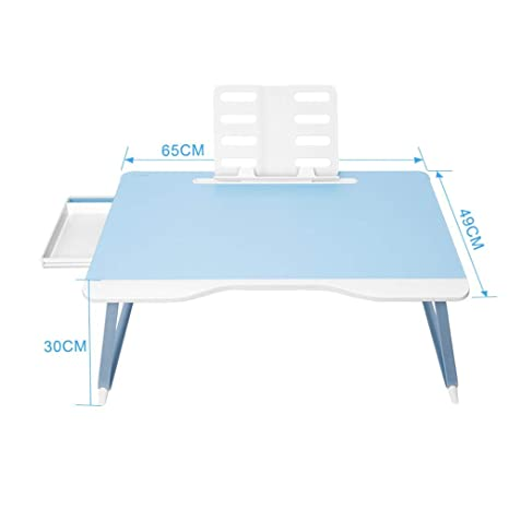 IG Mesa de computadora Plegable para el hogar Dormitorio de ...