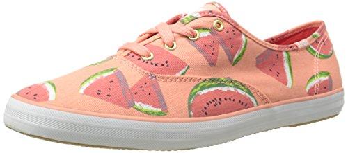Print Shoe Keds (Keds Women's Champion Fruit Fashion Sneaker, Watermelon, 8.5 M US)