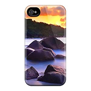 Waterdrop Snap-on Rocky Beach At Sunset Cases For Iphone 6