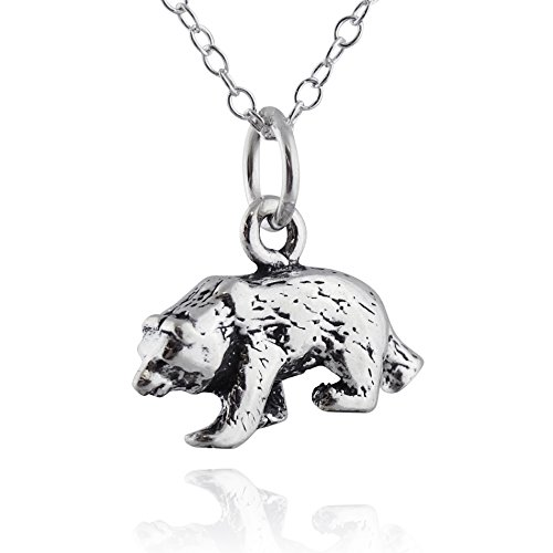 Grizzly Bear Charm - 1