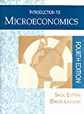 img - for Introduction to Microeconomics by Saul Estrin (1994-11-11) book / textbook / text book