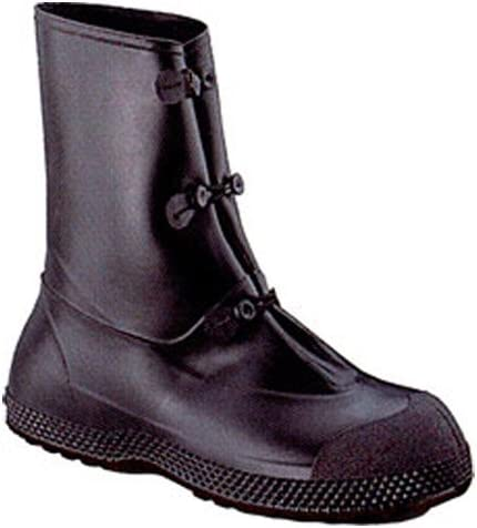 PR Black S Button Tab Mens TINGLEY 35141 Workbrutes Overboots PVC