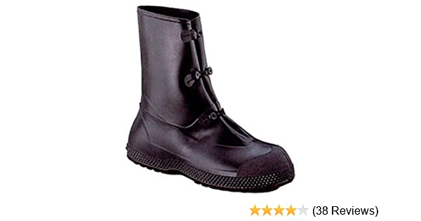 Size 5 US GI Military NBC Protection Slip Resistant Rubber Overboot Green