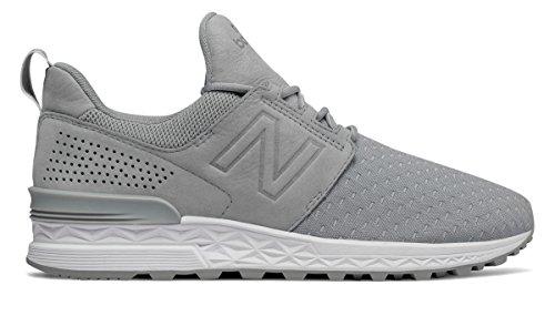 こねる利得ゲインセイ(ニューバランス) New Balance 靴?シューズ レディースライフスタイル 574 Sport Decon Silver Mink シルバー ミンク US 7 (24cm)
