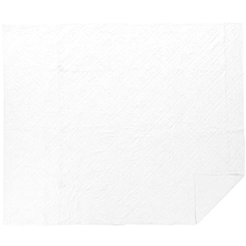 VHC Brands Farmhouse Bedding - Aubree Grey Quilt, King, Fog