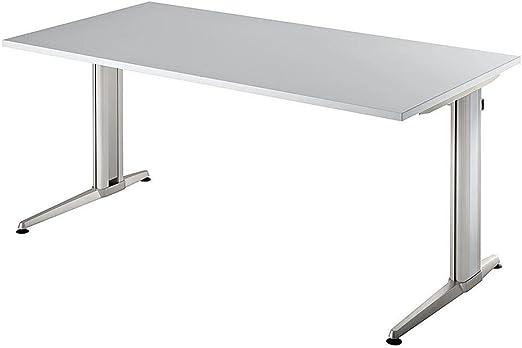 180 x 80 gris escritorio XTRA XS: Amazon.es: Hogar